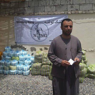 Project Voedselpakketten stichting Nang 3
